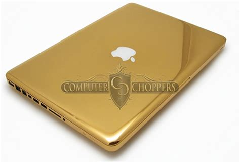 Laptop Apple Gold this 24kt gold macbook pro is the ultimate luxury laptop