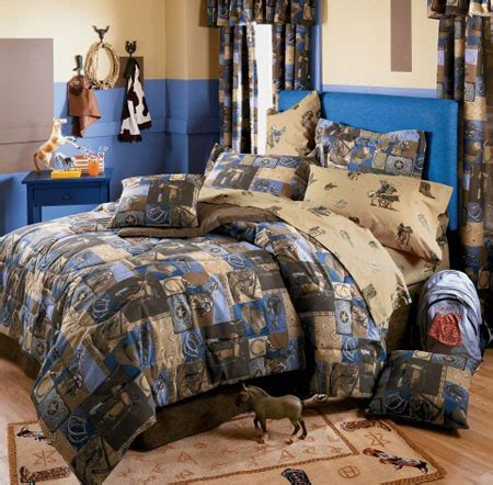 Children S Western Bedroom Decor by Bed Design Great Comfortable Western Bedding