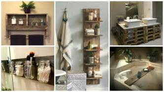 Free Diy Bedroom Furniture Plans by 17 Pallet Projects You Can Make For Your Bathroom Pallet