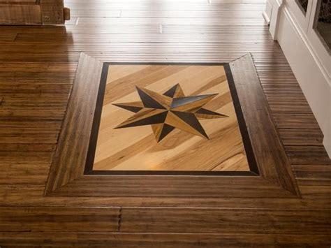 wood floor medallion   WoodFloorDoctor.com