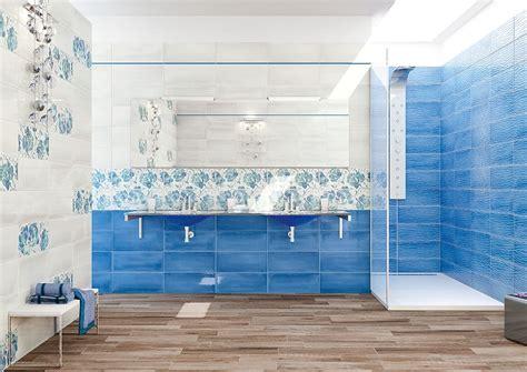 piastrelle azzurre piastrelle bagno azzurre e bianche