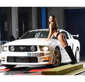 Mustang Girls Pictures Ford Automotive News