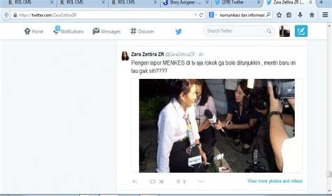 foto tato susi menteri kelautan merokok usai pelantikan menteri susi dibully