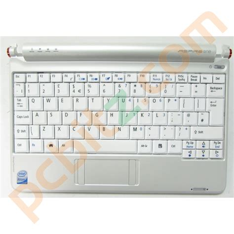 Keyboard Acer Aspire One Zg5 acer aspire one zg5 tested working palmrest with keyboard uk qwerty misc