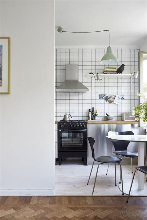 inrichting kleine keuken kleine half open keuken van appartement van 38m2