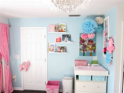 kinderzimmer blau rosa pink blue silver nursery project nursery
