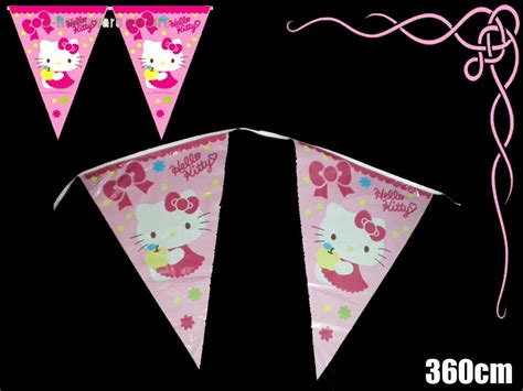 Banner Hello Bunting Flag Hello Banner Hello sanrio hello birthday supply 3 6m banner bunting flag h163 ebay