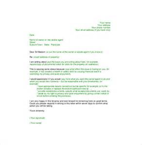 Complaint Letter Template To Estate Tenant Complaint Letter 8 Free Word Pdf Documents Free Premium Templates
