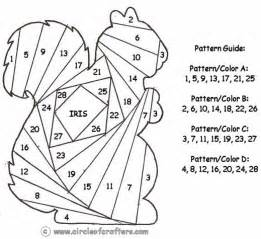 Free printable iris folding patterns crafts templates patterns