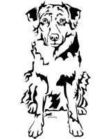 australian shepherd tattoo 43 best images about tattoos on drawings
