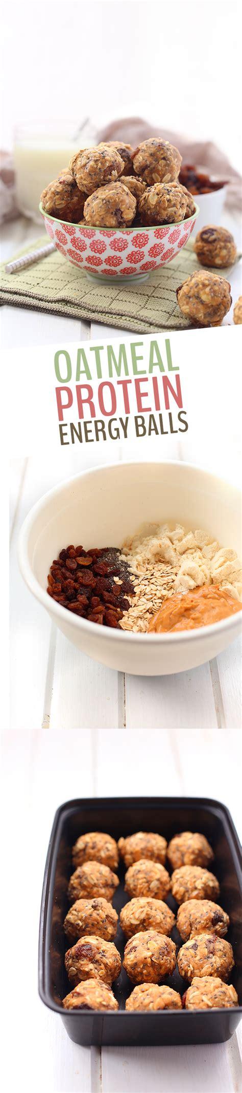 protein oatmeal balls no bake oatmeal protein energy balls the healthy maven