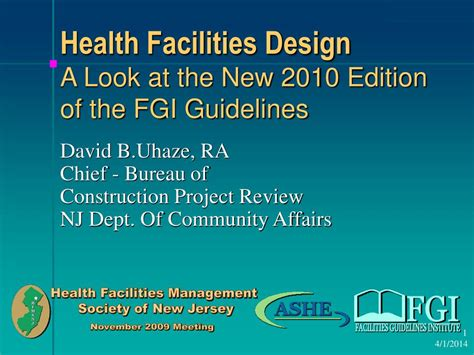 design guidelines for healthcare facilities ppt health facilities design a look at the new 2010
