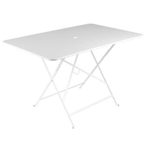 Table Bistro Fermob 117 X 77 Appealing Table Bistro Fermob 117 X 77 With Fermob Bistro Table 117 X 77 Cm Cotton White