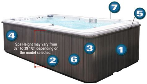Tub Cabinet Replacement Panels by Cal Spas Exterior Cabinets Tub Parts Spas Parts