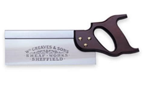 William Greaves Gents Saw For Dovetail Joints And Fine