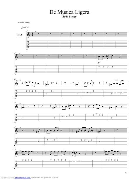 soda stereo imagenes retro bass tab de musica ligera guitar pro tab by soda stereo