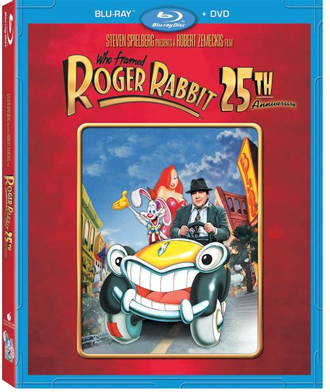 who framed roger rabbit blu ray who framed roger rabbit 25th anniversary edition on blu