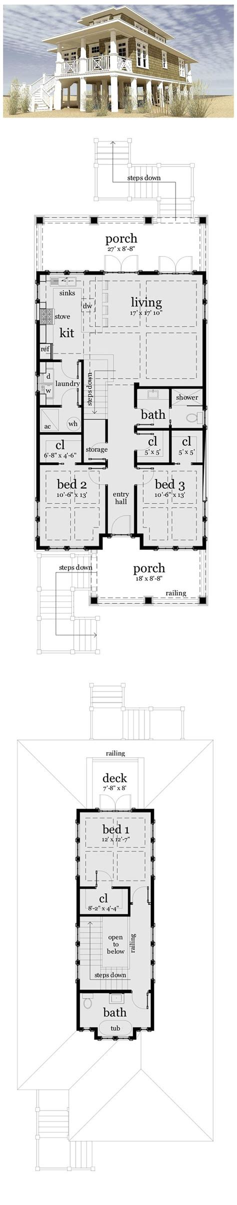 coastal home floor plans 25 best ideas about house plans on house floor plans lake house plans