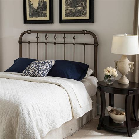 Headboards For California King Size Beds Fashion Bed Vienna California King Size Headboard With Metal Spindle Panel And Carved