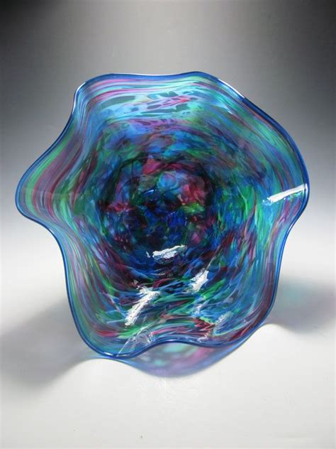 Handmade Glass Bowls - colorful blown glass bowl blown glass bowl handmade