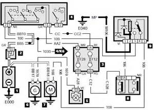 Peugeot 106 Wiring Diagram Peugeot 405 Wiring Diagram Starting And Charging System