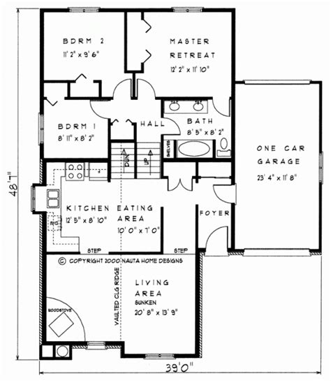side split house plans sidesplit house plans nauta house plans custom home