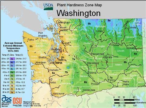 garden zones oregon usda hardiness zone maps of the united states landscape