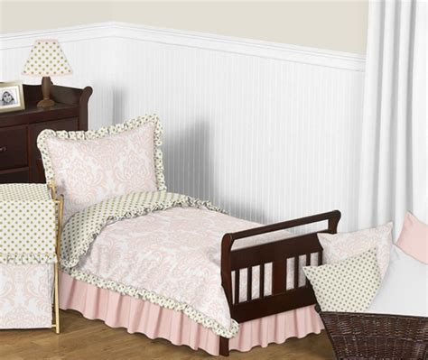 gold and pink bedding blush pink gold and white amelia toddler bedding 5pc