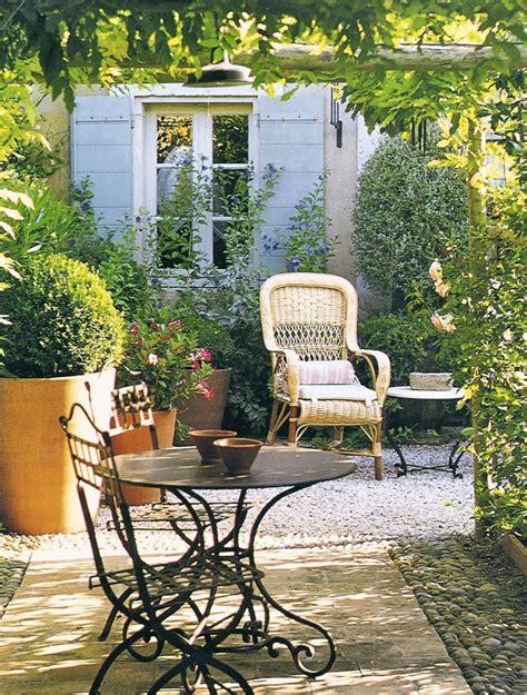 Provence Garden Decor Quarter Patio Designs Patio Decor 65 Style Patio Decorating Dual Sitting