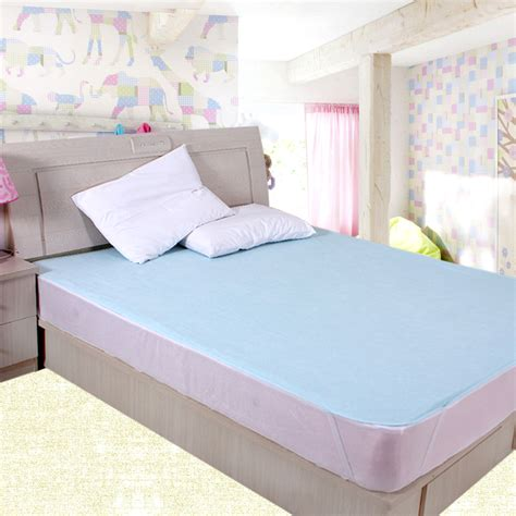 waterproof bed sheets 120 200cm 100 cotton baby changing mat water proof bed