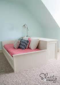 Bedside Platform Bed Diy Diy Bed Images