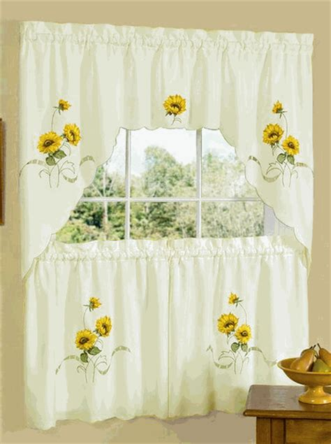 swag tier set discount kitchen curtains