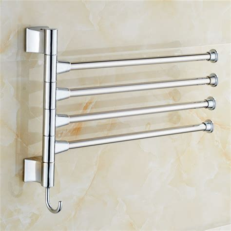 Kitchen Wall Mounted Racks by Bathroom Kitchen Wall Mounted Towel Polished Rack Storage