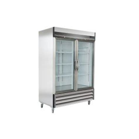 maxx cold x series 49 cu ft glass door commercial