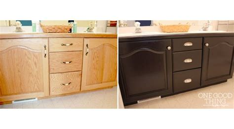 staining bathroom cabinets 17 best images about refinish furniture on pinterest furniture industrial side
