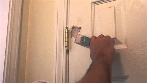 Repair Door by How To Repair A In A Wall Or Door