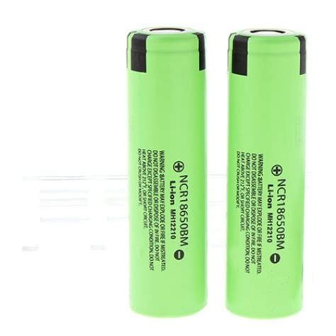 Panasonic Cr2 Original Battery Non Rechargeable ncr18650bm 3200mah 3 6v plate rechargeable 18650 li