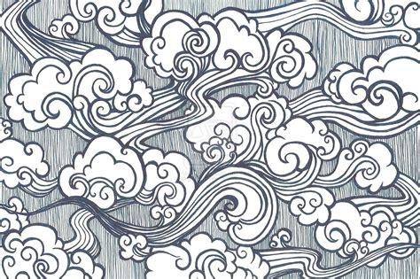 oriental tattoo clouds oriental clouds by gkelleh on deviantart