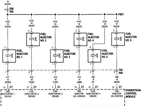 fuel injector wiring diagram efcaviation