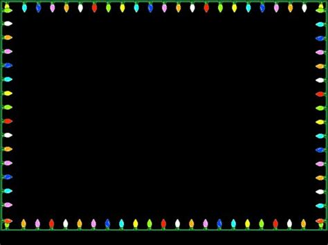 blinking christmas light border html christmas animated