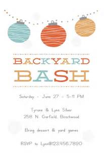 backyard invitations backyard invitations cimvitation