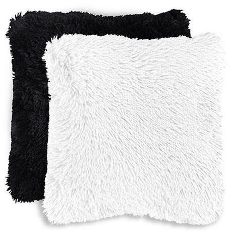bed faux fur husband pillow kids backrest pillow with arms furry mainstays kids shag faux fur d 233 cor pillow cover walmart