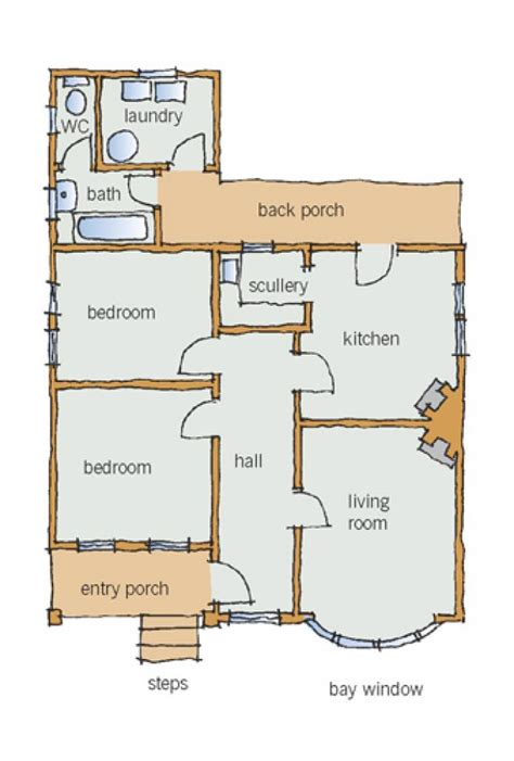 typical house layout layout branz renovate