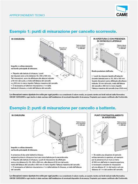 cancelli per porte luma impianti elettrici normativa europea cancelli e