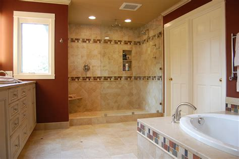 Remodeled Bathroom Ideas Bath Remodel Ta Ta Remodeling Contractors