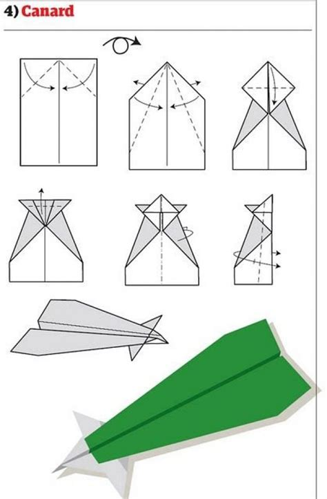 Make Cool Paper Airplanes - how to make paper airplanes international pictures