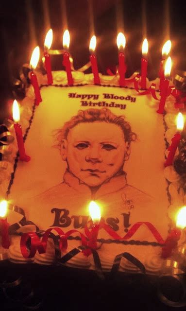 devils eyes halloween movies fansite  halloween michael myers birthday cakes