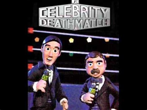 celebrity deathmatch original celebrity deathmatch theme youtube