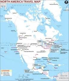 south america tourist attractions map america travel information places to visit map