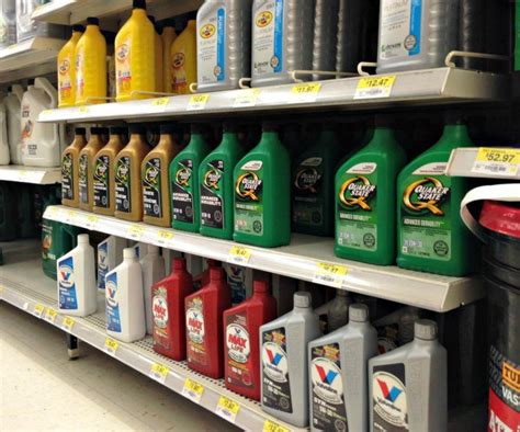 walmart automotive section diy how to change your own oil